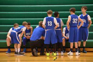 Boys JH Basketball (B) @ New Miami