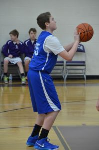 Boys JH (B) Basketball @ MVCA