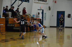 Boys JH (B) Basketball vs St Bernard