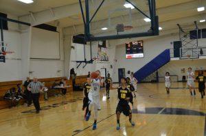 Boys JH (A) Basketball vs St Bernard