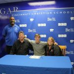 Logan Katsetos Signs to Play Football for Olivet Nazarene University