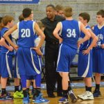 JH Boys Basketball B Team - Championship vs CHCA 2014-2015