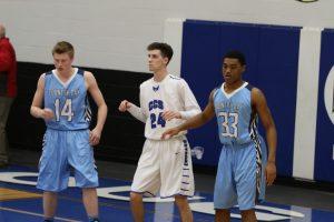 Boys' Varsity Basketball Senior Night