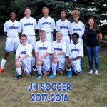 Cincinnati Christian Boys Junior High Soccer Junior High ties The Seven Hills School 1-1