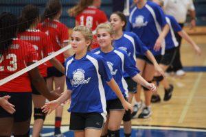 Junior High Volleyball Team A