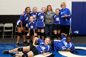 Junior High Volleyball Team B