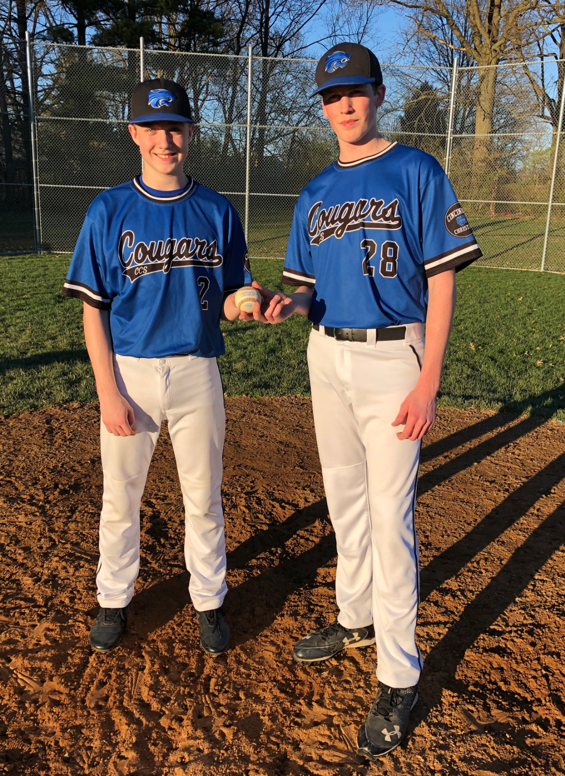 Ben Ferguson throws a NO-Hitter with the help of catcher Caden Glenn!