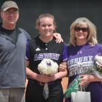 CCS Alumni honored at Asbury University Senior Baseball/Softball events!