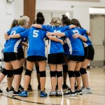 JH B Volleyball Team loses to CHCA 2-1