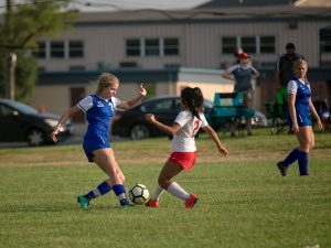 Varsity Girls Soccer vs. Norwood 9/12/19