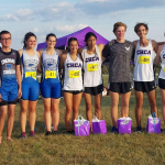 Varsity Cross Country celebrates senior night at CHCA Invitational