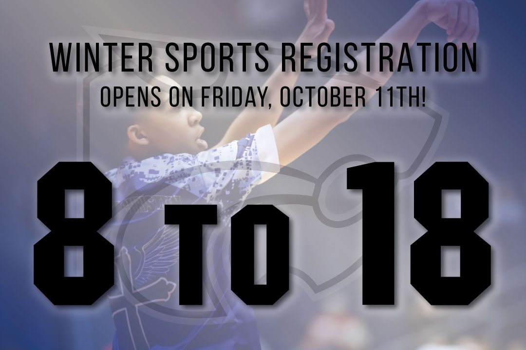 Winter Sports Registration Opens October 11!