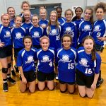 JH Volleyball Teams A & B Move on to the MVC Finals!
