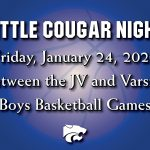 Little Cougar Night – January 24