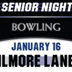 Bowling Celebrates Senior Night on Thursday, January 16!