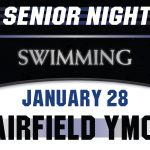 Swimming Celebrates Senior Night, Tuesday, January 28!