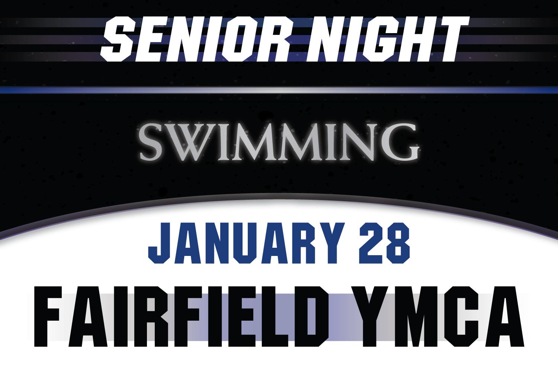 Swimming Celebrates Senior Night, Tuesday, January 28!