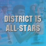 Congratulations to Cameron Rogers, KJ Swain, and Logan Woods on being named to the District 15 All-Star Team!