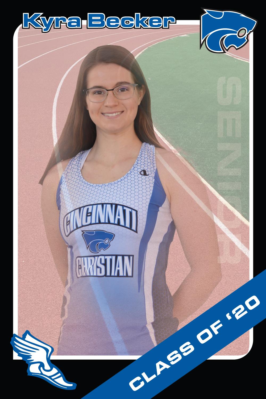 Kyra Becker, Track & Field, Class of 2020