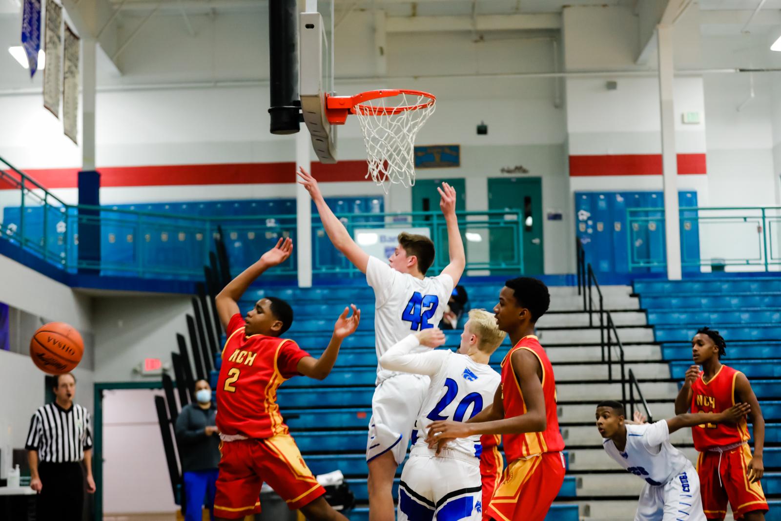 Boys JV Basketball vs. North College Hill 12-1-2020