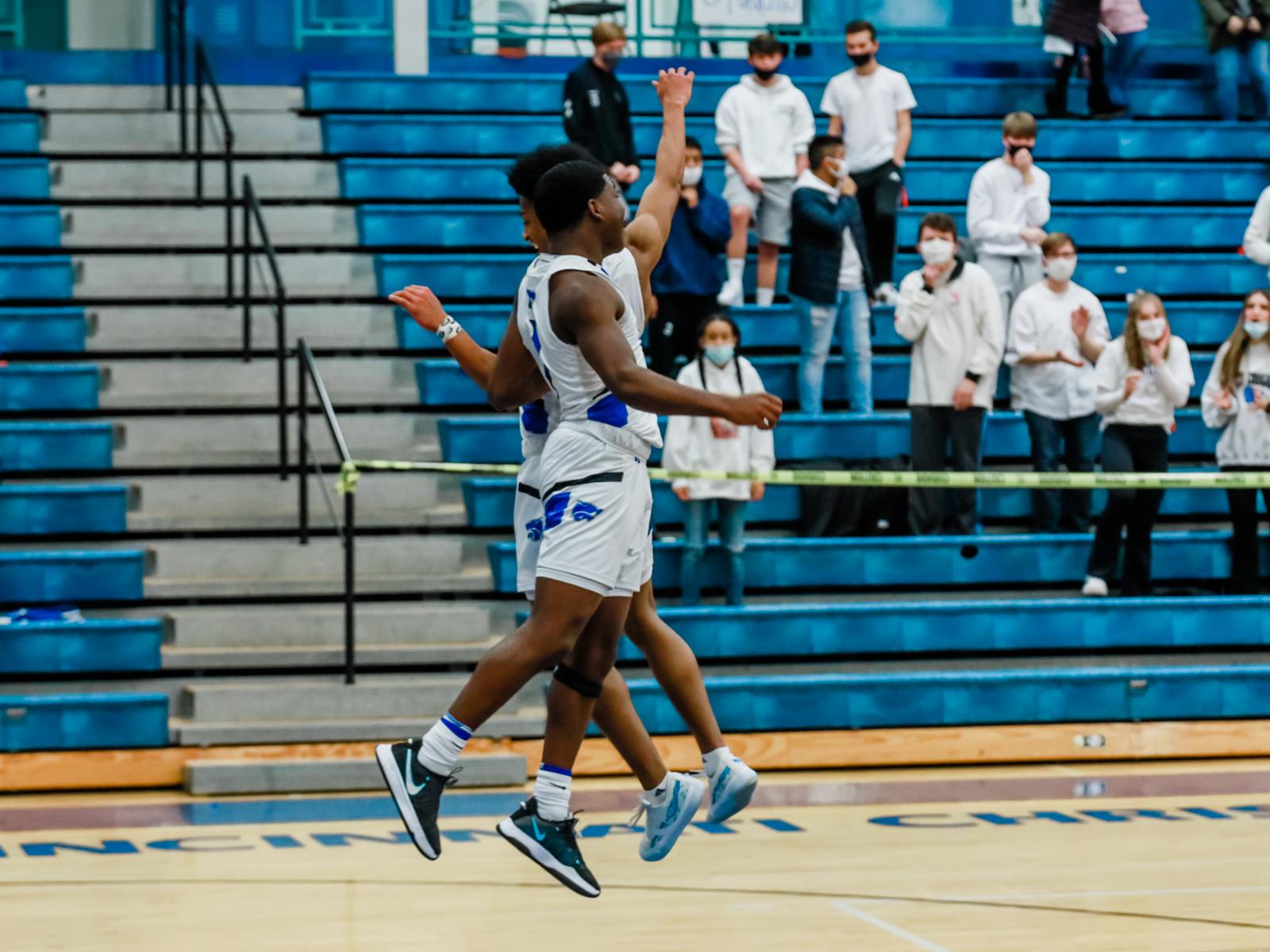 Varsity Boys Basketball vs. Norwood 2-6-2021