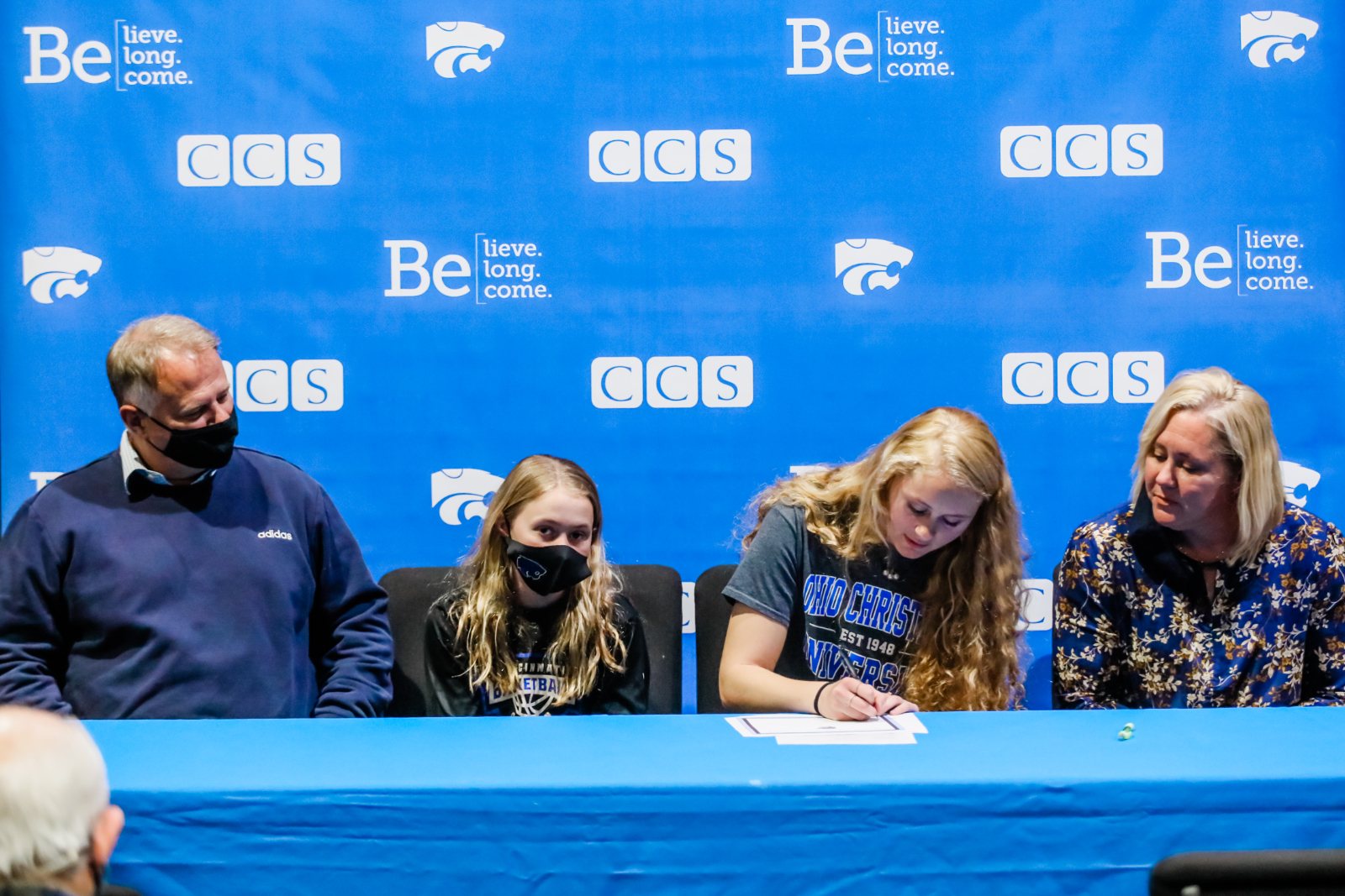 Congratulations to Lizzie Grooms for signing to play soccer for Ohio Christian University!!!