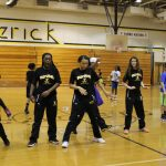 Girls' Basketball Community Service Basketball Clinic
