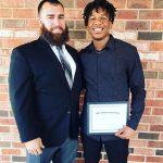 Cadets Jah'mel Throne Awarded Ravens Nest #3 110% Scholarship
