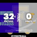 Jv Football: Cadets fall to Bulldogs in season fanalie