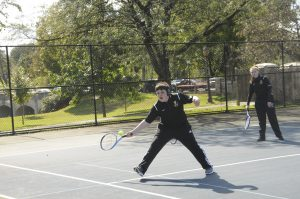 Unified Tennis, 2018 District Championships at Baker Park