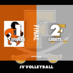 Jv Volleyball: Cadets defeat MSD in final match of 2018