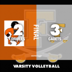 Varsity Volleyball: Cadets notch first 4 win season since 2012 with win over MSD