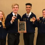 Frederick FFA places nationally in Food Science at National Convention