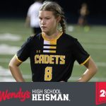 Courtney Grove has been selected Frederick High School's 2018 Wendy's High School Heisman Award Winner