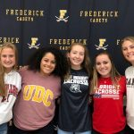 Effland, Gray-Hillian, Lauterbach, Nealley, Popielaski sign their National Letters of Intent for Women's Lacrosse