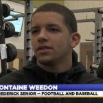 VIDEO: Fontaine Weedon named WDVM Student Athlete of the Month