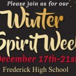 SGA announces Winter Spirit Week dress up days!