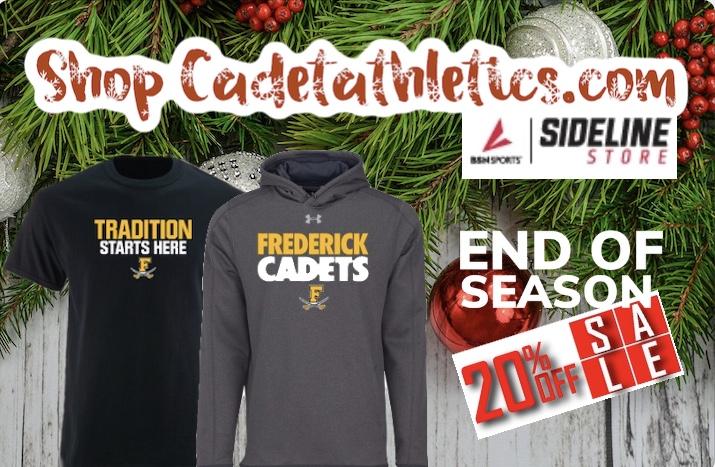 It's the END OF SEASON 20% OFF SALE at Cadetathletics.com!