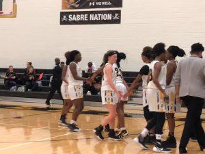 Photo Gallery: Girls Varsity Basketball vs Tuscarora, The Battle of the Backyard