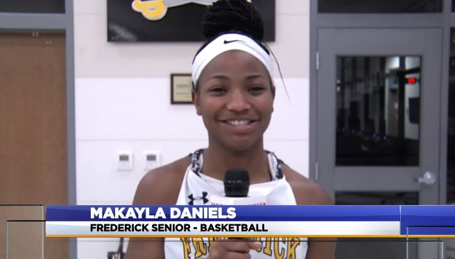 WATCH: WDVM- Makayla Daniels named WDVM Sports Student Athletes of the Month