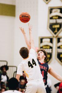 Photo Gallery: Boys Basketball vs TJ. courtesy of Duncan Slade