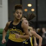 Girls Indoor Track: Cadets finish 2nd at County Championships. Tolbard, 4×800 relay claim titles