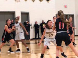 Photo Gallery: Girls Jv Basketball vs Linganore