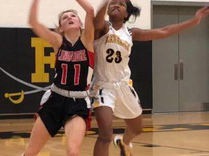 Photo Gallery: Girls Varsity Basketball vs Linganore