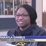 WATCH: WDVM- Monday MVP, Frederick's Makayla Daniels