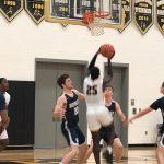 Boys Varsity Basketball: Hill, Osei lead Cadets to victory over Howard