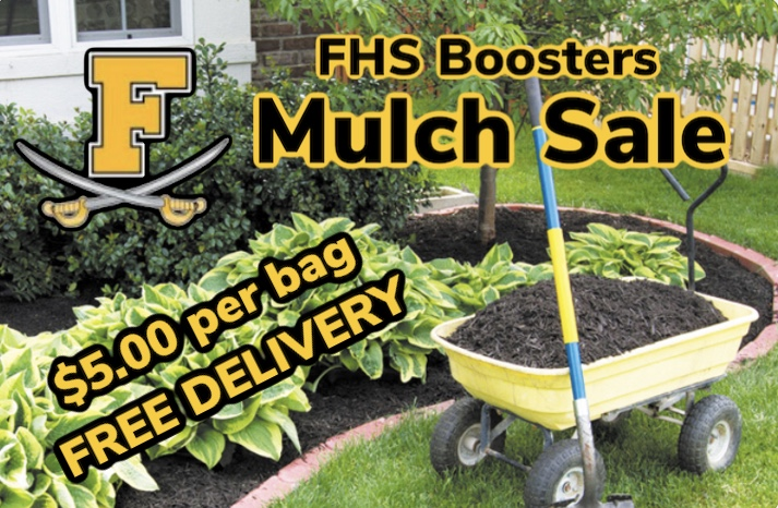 Got Mulch? Support the Boosters Spring Mulch Sale!