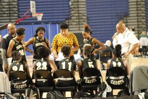 Photo Gallery: Girls Varsity Basketball vs #1 Bishop McNamera. Courtesy of Maurice Butler