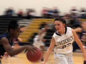 Photo Gallery: Girls Jv Basketball vs Thomas Johnson