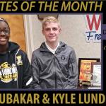 Bubakar named WFMD High School Athlete of the Month
